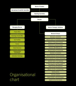 Organigram (Click to enlarge)